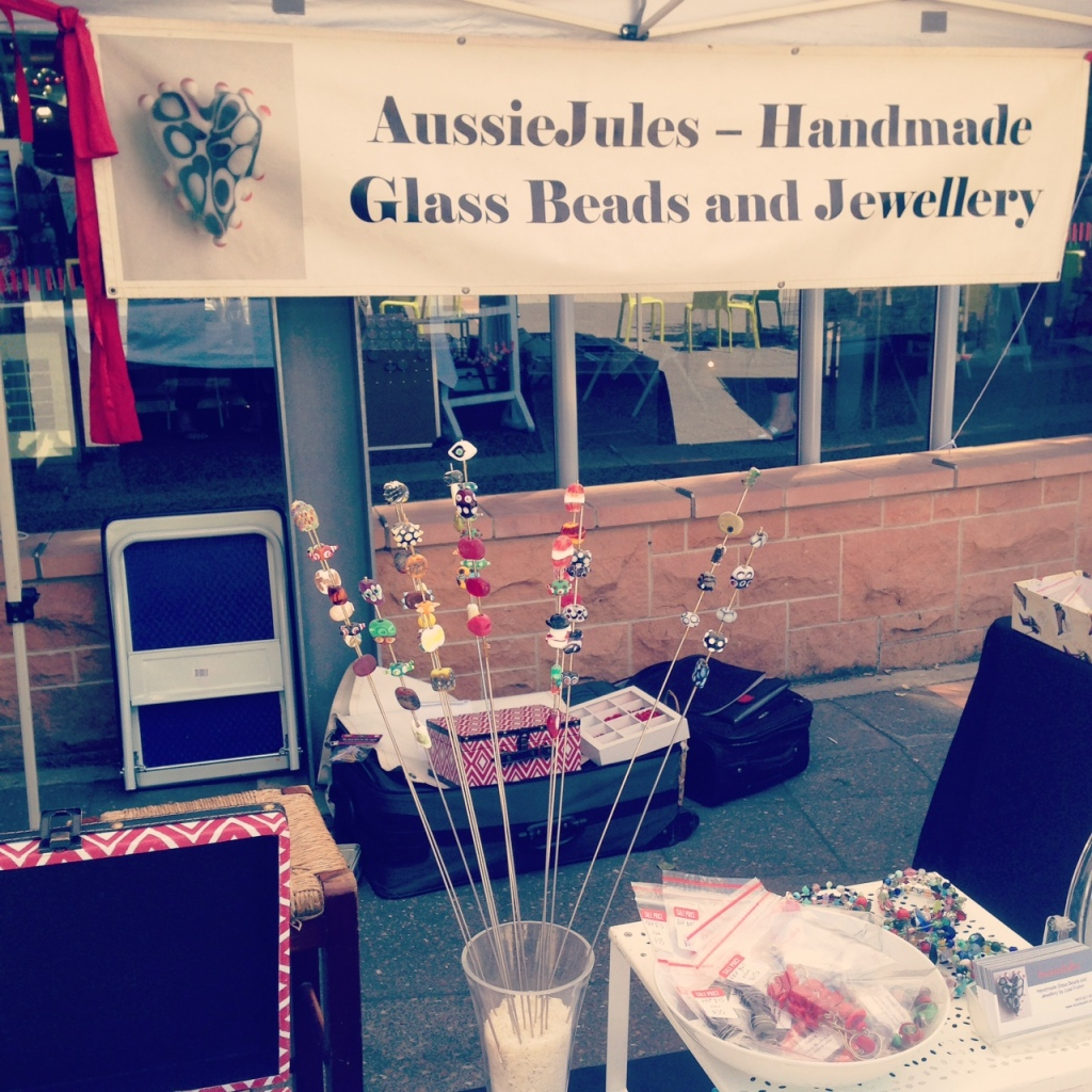 AussieJules at the Mount Gambier Library Markets
