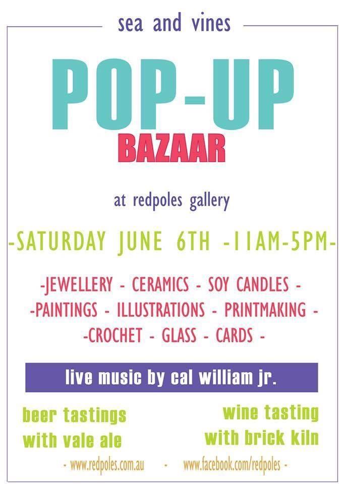 Red Poles Pop-Up Bazaar