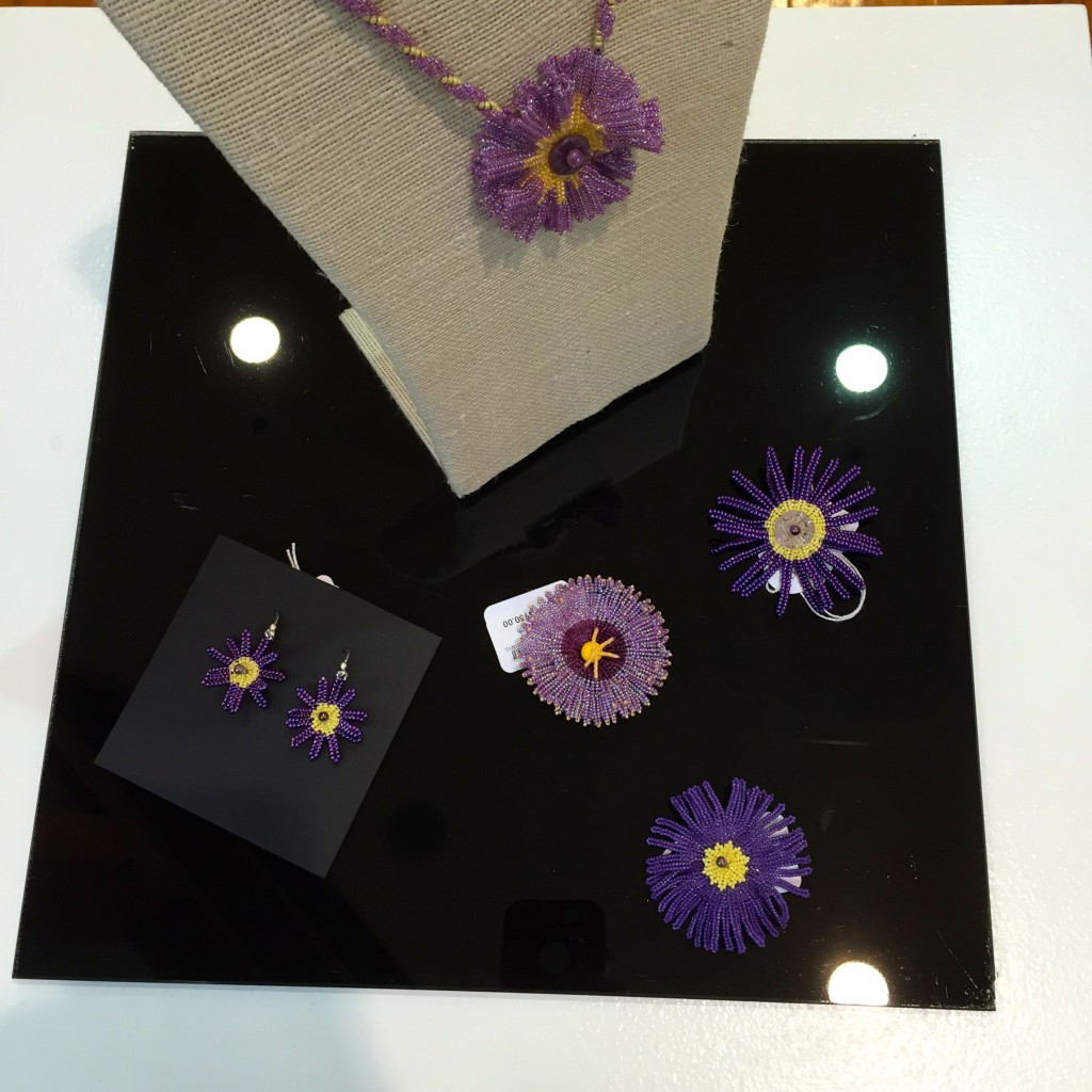Lyn Branson purple flower series