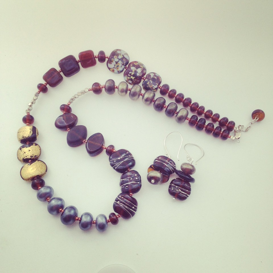 Beautiful jewellery made from a Coopers Sparkling Ale bottle.  The ultimate in recycling.