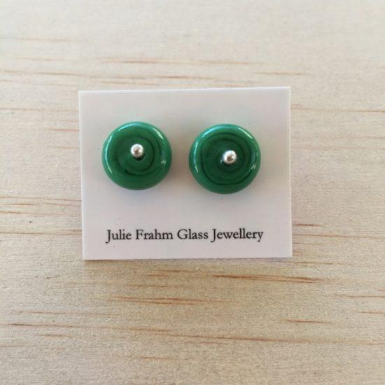 Stud earrings - Green