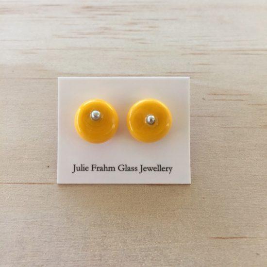 Stud earrings - Yellow