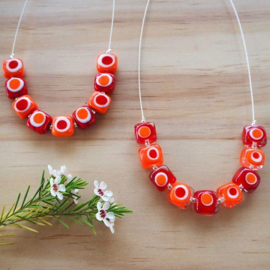 Kandinsky inspired necklaces by Julie Frahm