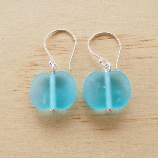 Bombay Sapphire Gin earrings