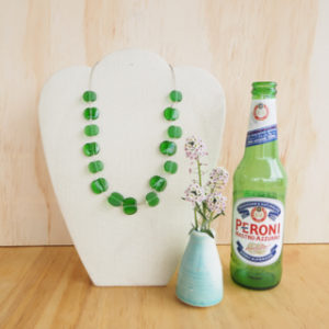 4. Peroni Beer Bottle Jewellery