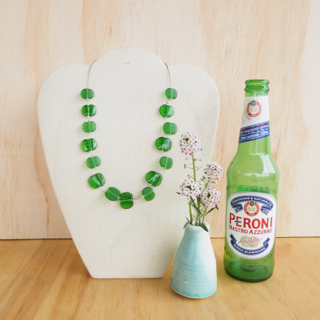 4. Peroni Beer Bottle Jewellery