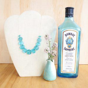 1. Bombay Sapphire Gin Jewellery