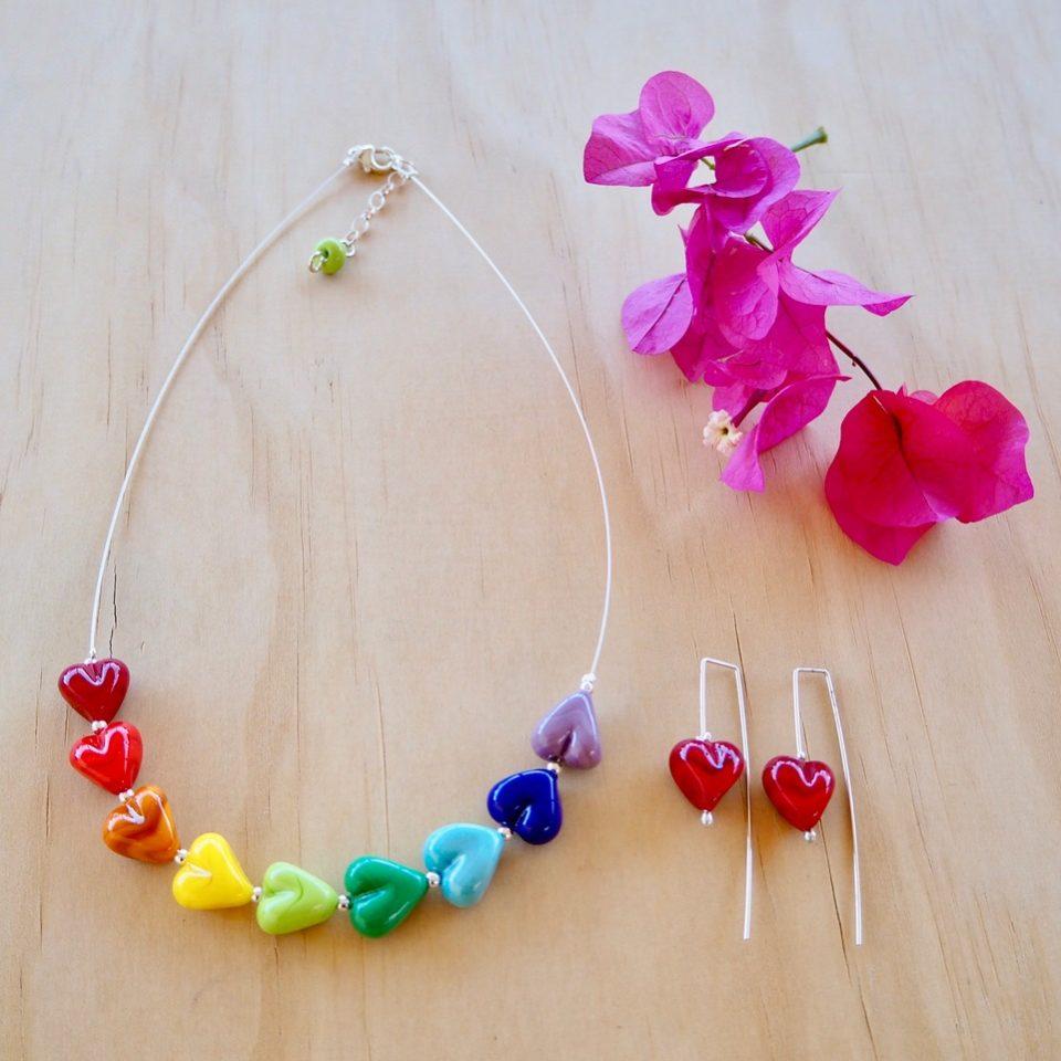 colour wheel jewellery