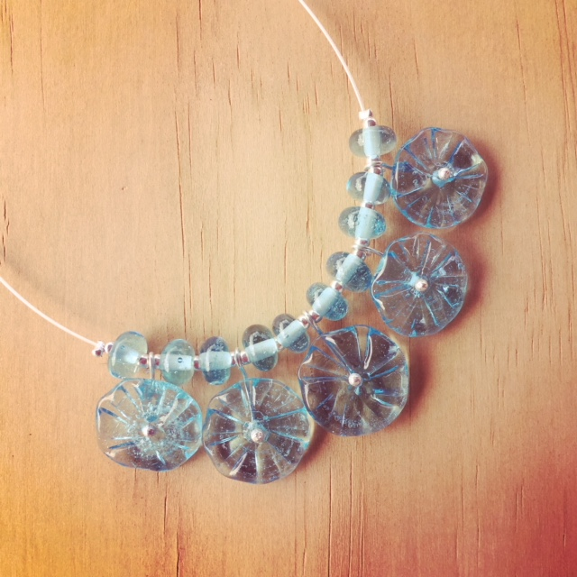 bombay sapphire gin necklace