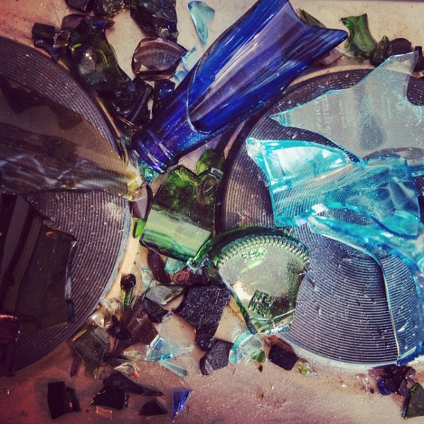 Recycled glass beads | the process of making recycled glass beads