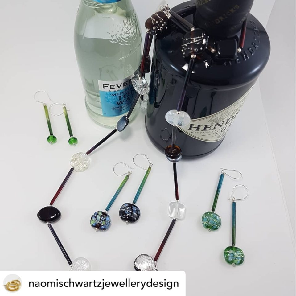 Gin and Tonic jewellery now available at Naomi Schwartz Jewellery Design gallery in Henley Beach