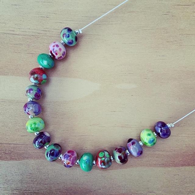 handmade glass bead jewellery