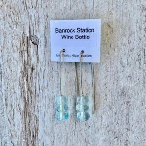 wine bottle earrings