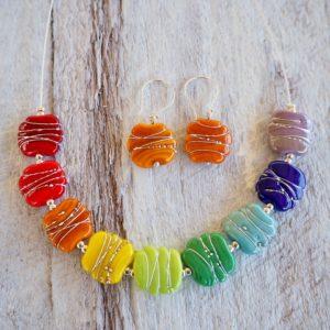 colour wheel necklace