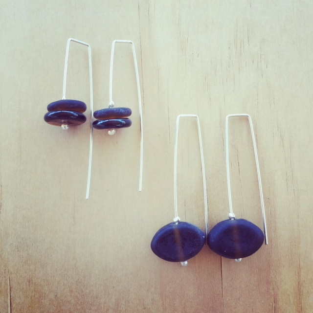 beer bottle earrings