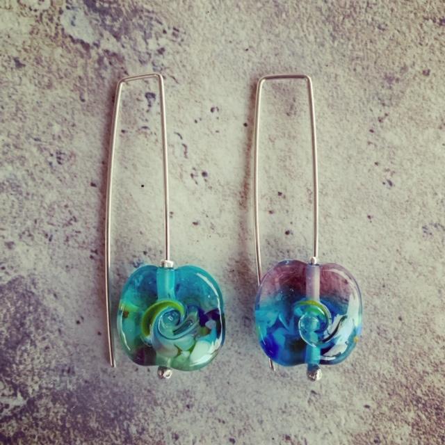 Ocean inspired Earrings