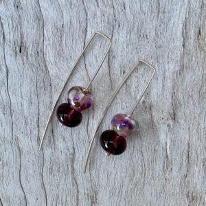 gin and tonic earrings