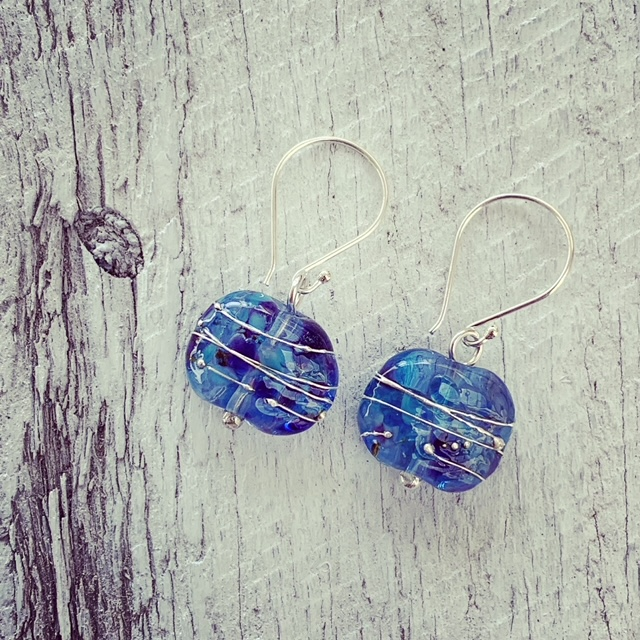 citadelle gin bottle earrings