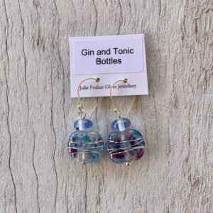 gin and tonic earrings