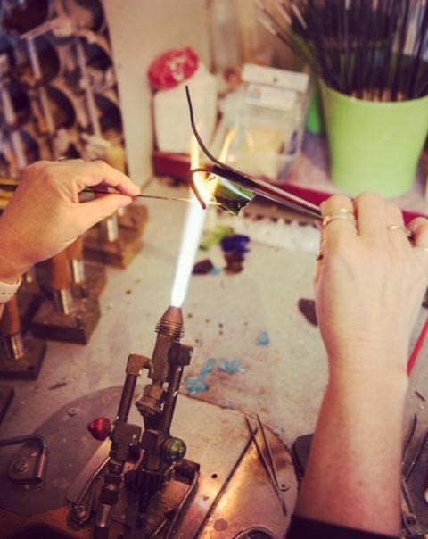 making glass beads