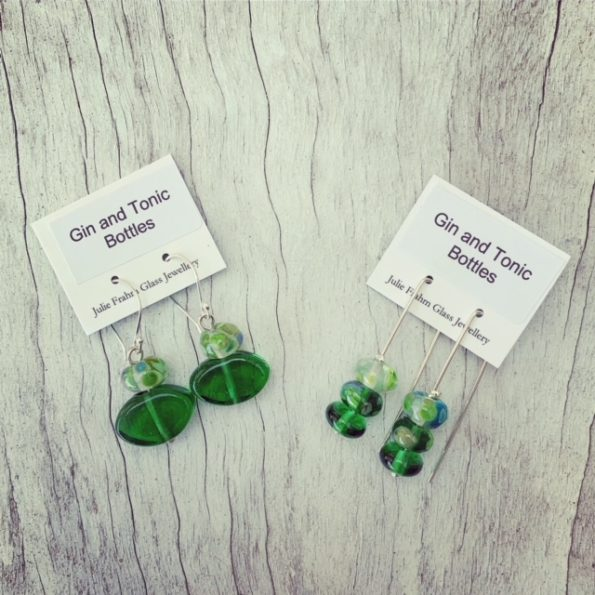 Tanqueray Gin and Tonic Earrings