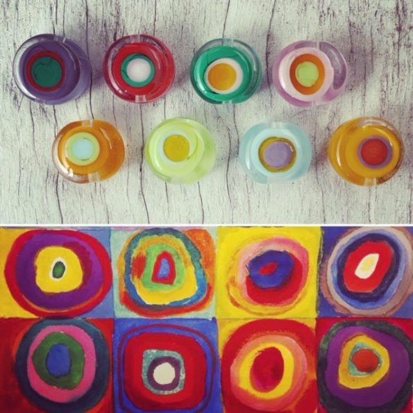 Kandinsky beads