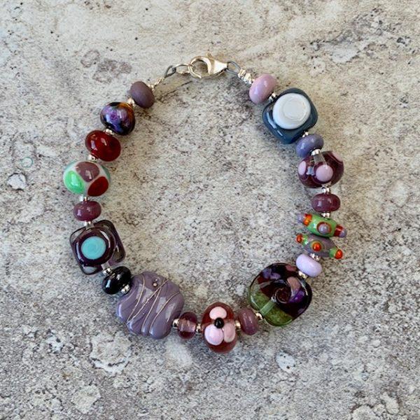 handmade glass bead bracelets