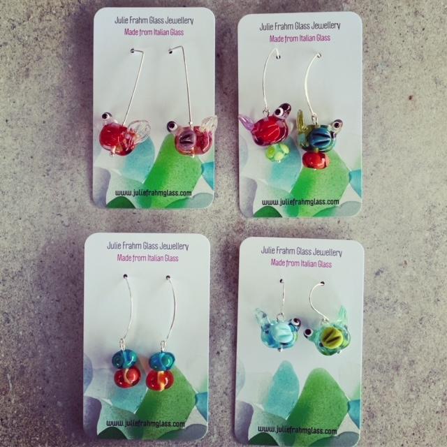 Mexican Bird Earrings