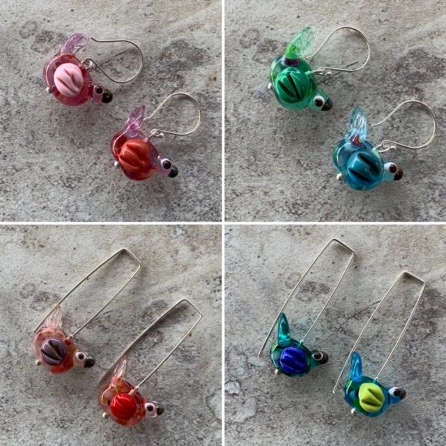 bird earrings