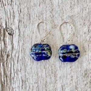 vodka bottle earrings