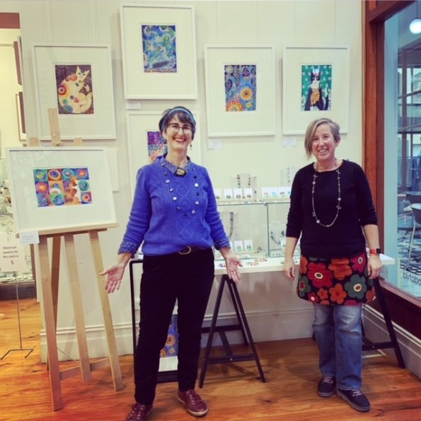 T'Arts Window Exhibition