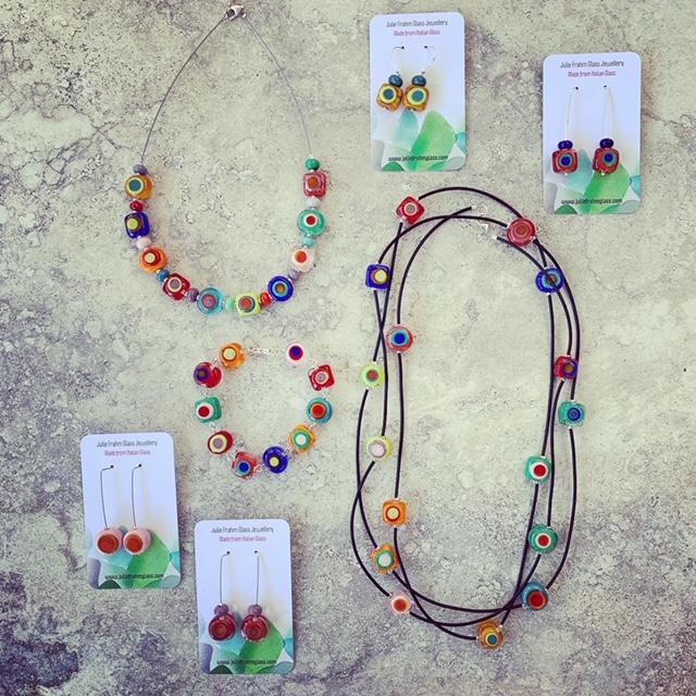 Kandinsky inspired jewellery