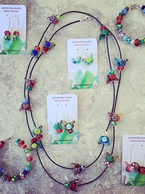 glass bird jewellery