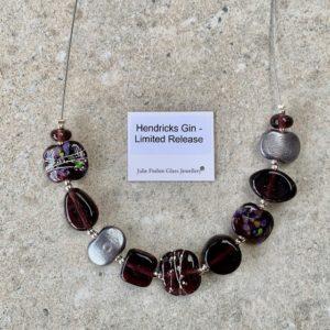 hendricks gin bottle necklace