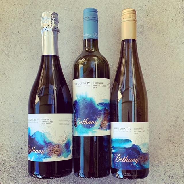 Bethany wine bottles