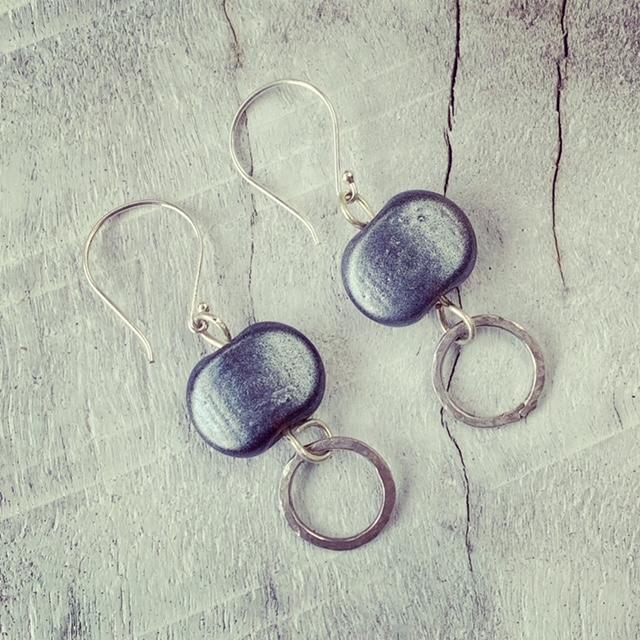 Hendrick's Gin Bottle Earrings