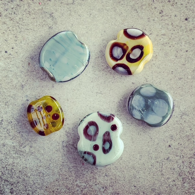 new glass beads