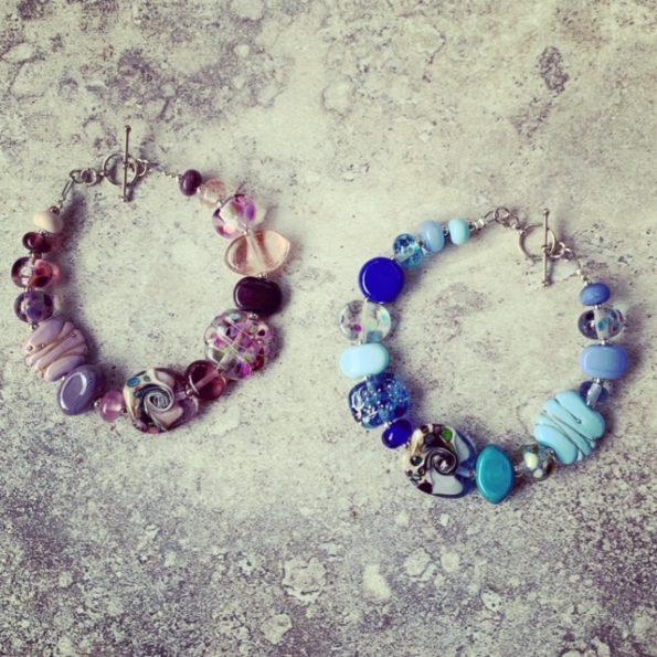 ocean bead bracelet